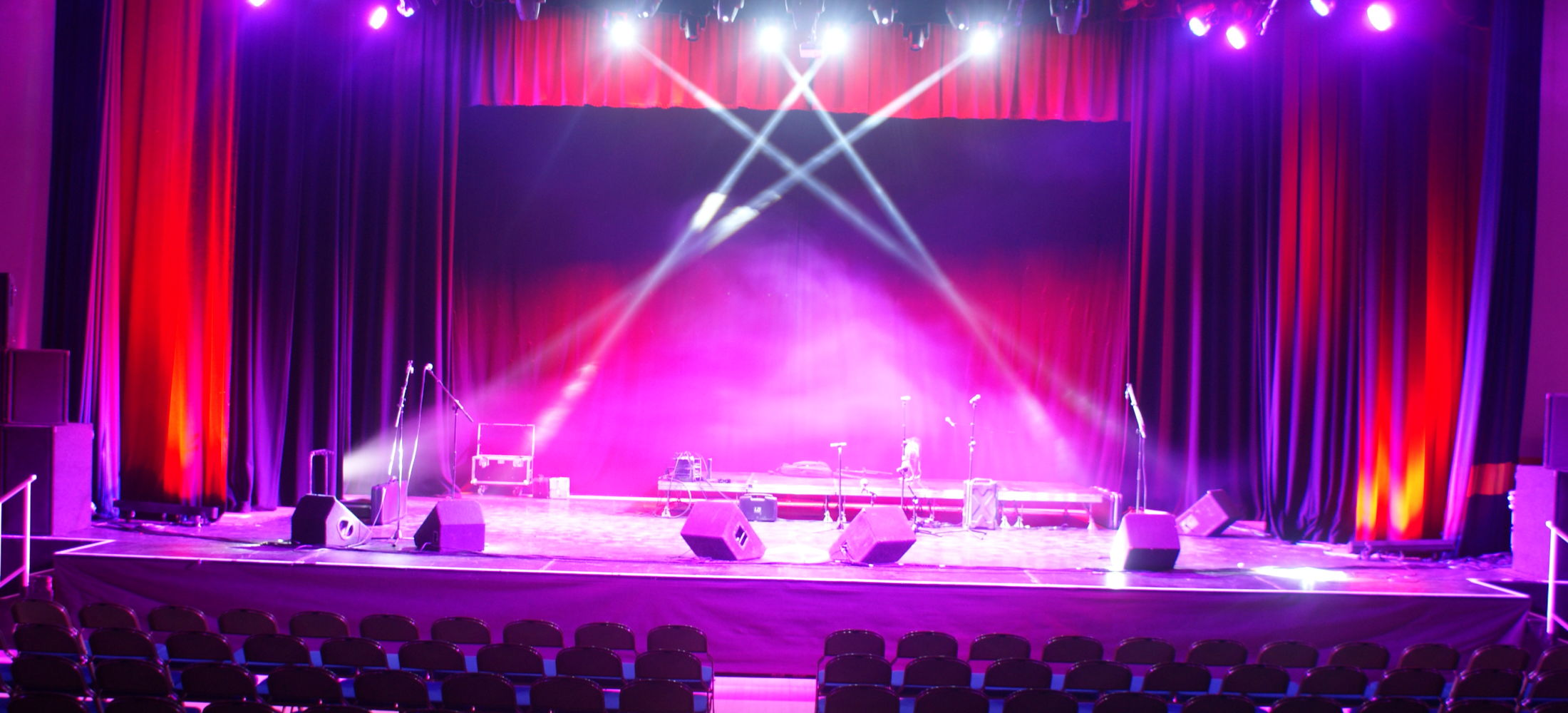 The Embassy Theatre Skegness Stage